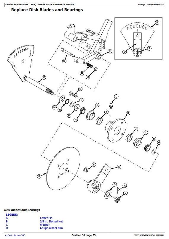 TM159219 - John Deere 450, 455, 750, 1520, 1530, 1535, 1560, 1590, 9400 Grain Drills Technical Manual - 1