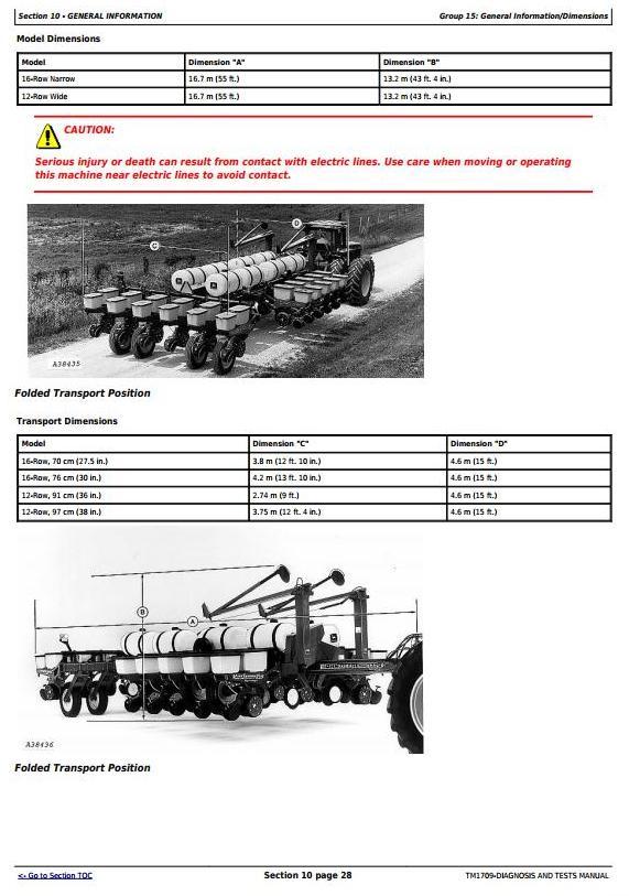 TM1709 - John Deere 1770 12RW-36, 12RW-38, 16RN-30, 24RN-30 plus Planters Diagnostic Service Manual - 3