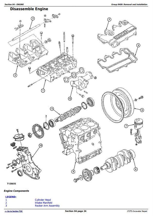 TM1837 - John Deere 27ZTS Compact Excavator Service Repair Technical Manual - 1