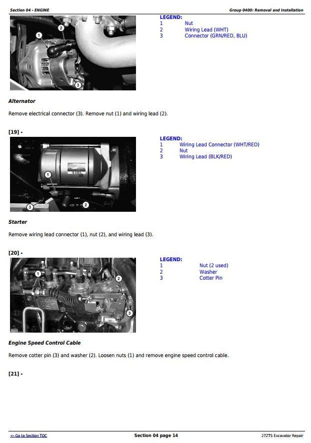 TM1837 - John Deere 27ZTS Compact Excavator Service Repair Technical Manual - 2