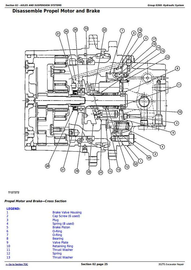 TM1839 - John Deere 35ZTS Compact Excavator Service Repair Technical Manual - 1