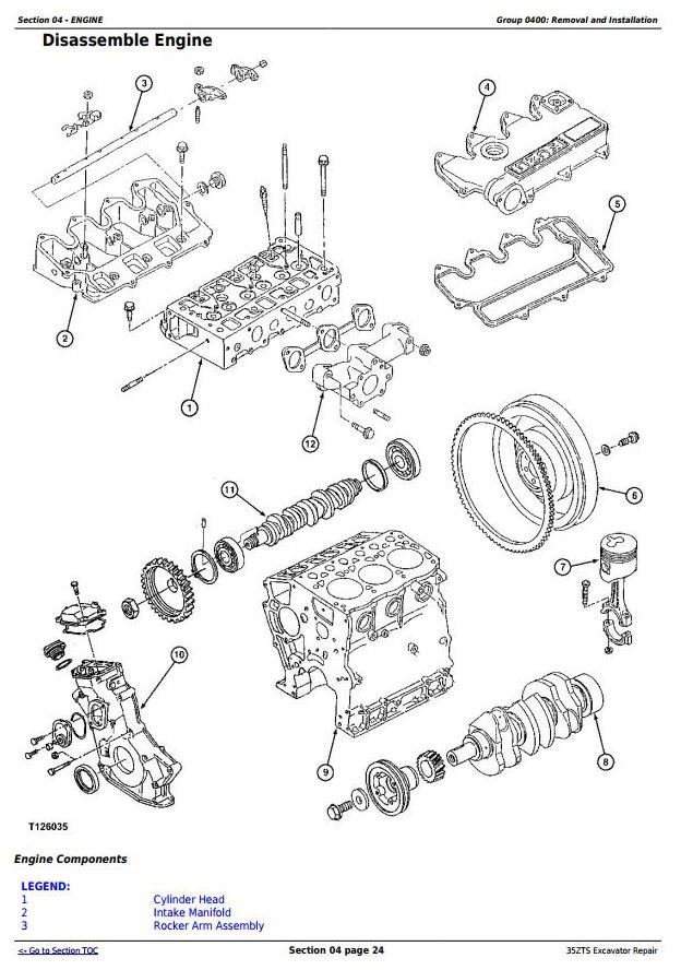 TM1839 - John Deere 35ZTS Compact Excavator Service Repair Technical Manual - 2
