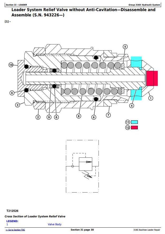 TM1886 - John Deere 310G Backhoe Loader Service Repair Technical Manual - 2