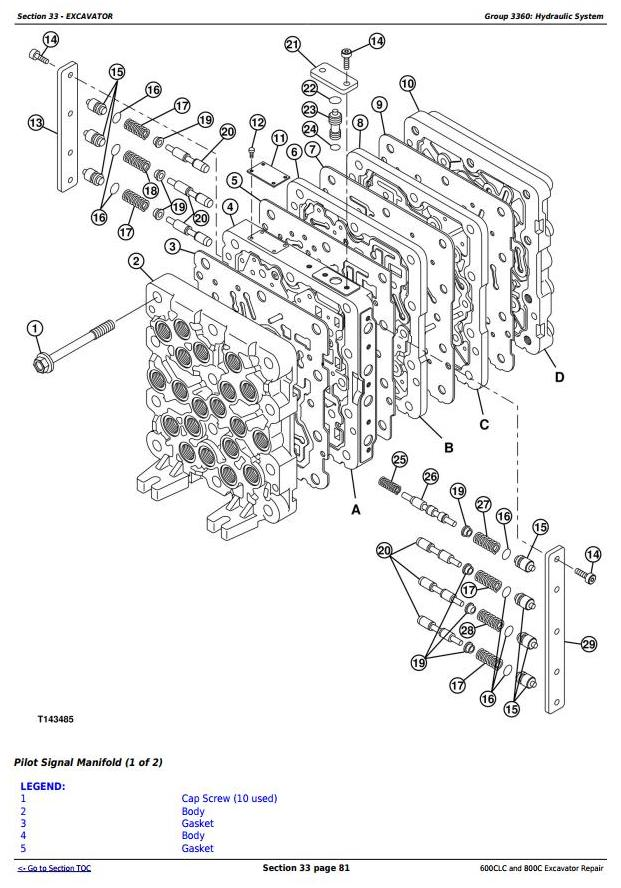 TM1923 - John Deere 600CLC and 800C Excavators Service Repair Technical Manual - 2