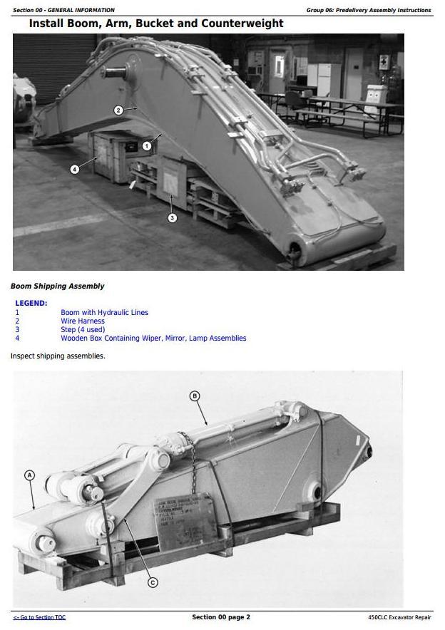 TM1925 - John Deere 450CLC Excavator Service Repair Technical Manual - 3