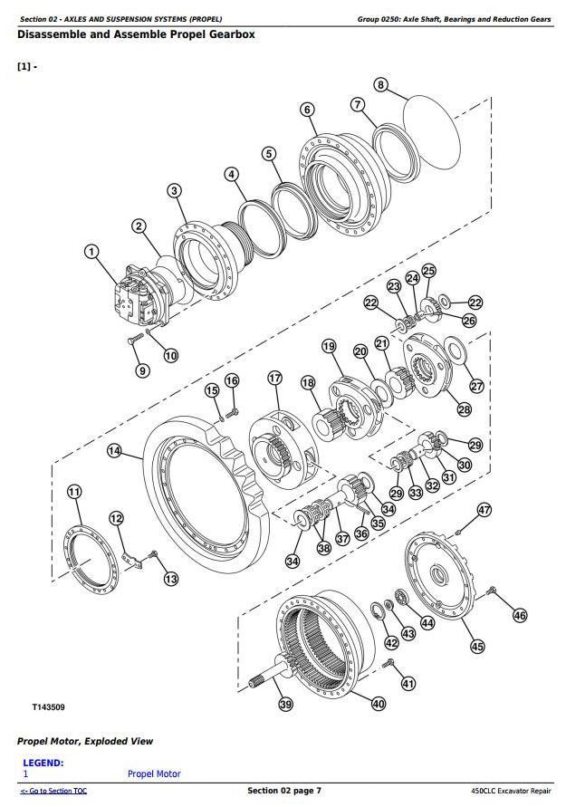 TM1925 - John Deere 450CLC Excavator Service Repair Technical Manual - 1