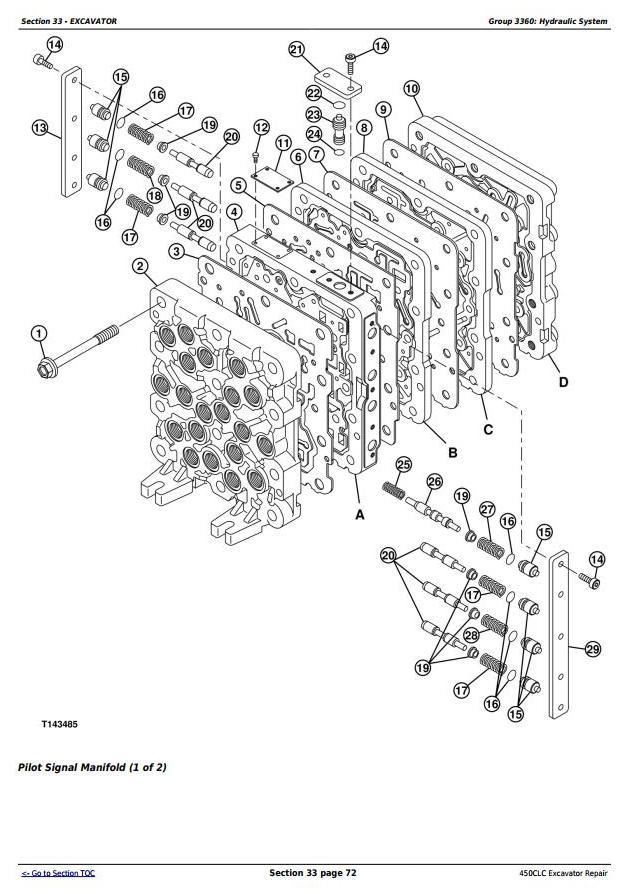 TM1925 - John Deere 450CLC Excavator Service Repair Technical Manual - 2