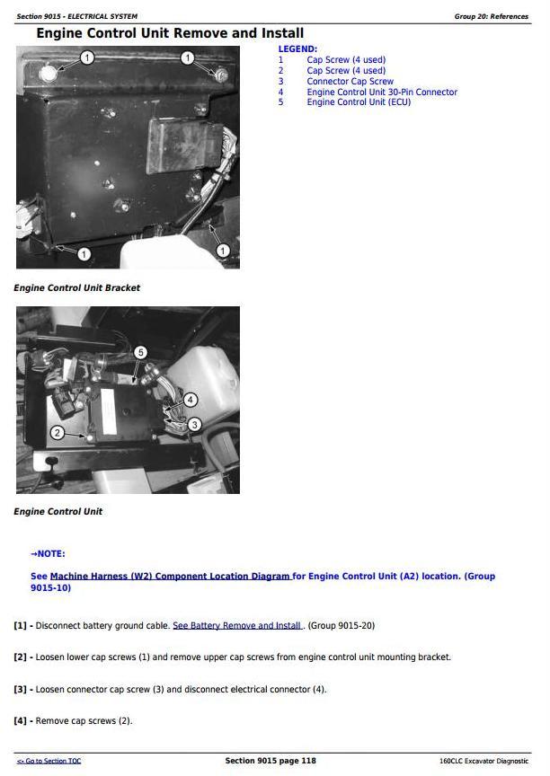 TM1932 - John Deere 160CLC Excavator Diagnostic, Operation and Test Service Manual - 2