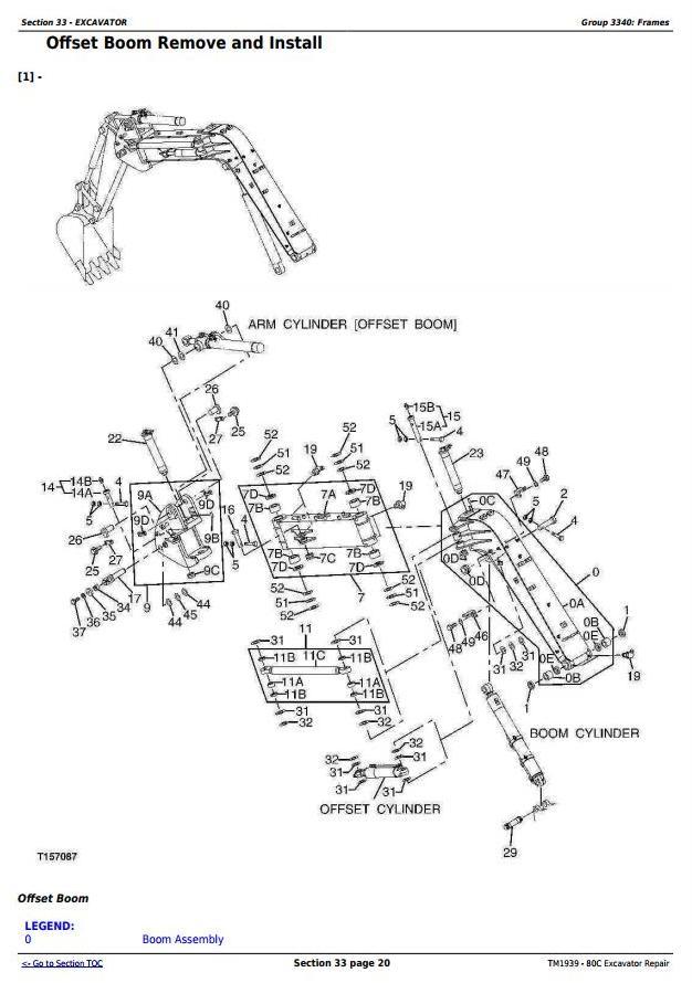 TM1939 - John Deere 80C Excavator Service Repair Technical Manual - 2