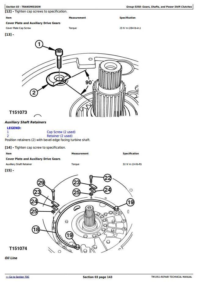 TM1951 - John Deere 250D, 250D SN 200366—200536, 300D, 300D SN 200366—200536 Truck Articulated Dump XXXXXX-609165 Repair Technical Manual - 2