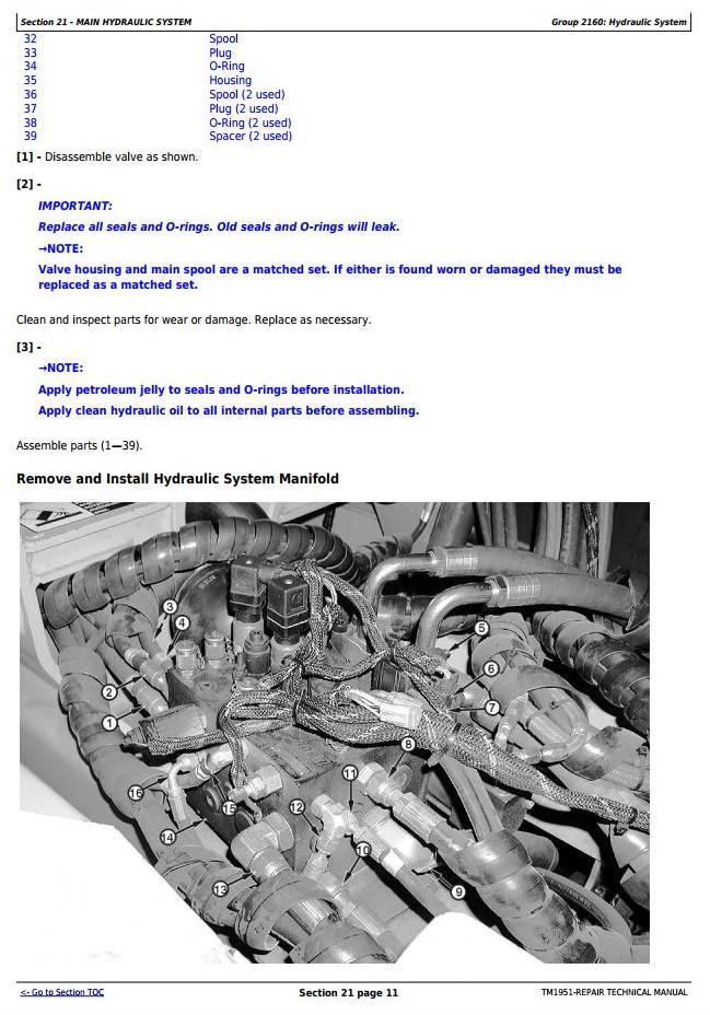 TM1951 - John Deere 250D, 250D SN 200366—200536, 300D, 300D SN 200366—200536 Truck Articulated Dump XXXXXX-609165 Repair Technical Manual - 3