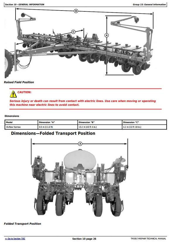 TM2017 - John Deere 1770NT and 1770NT CCS 16-Row Planter (SN. 740101-745000) Service Repair Manual - 3