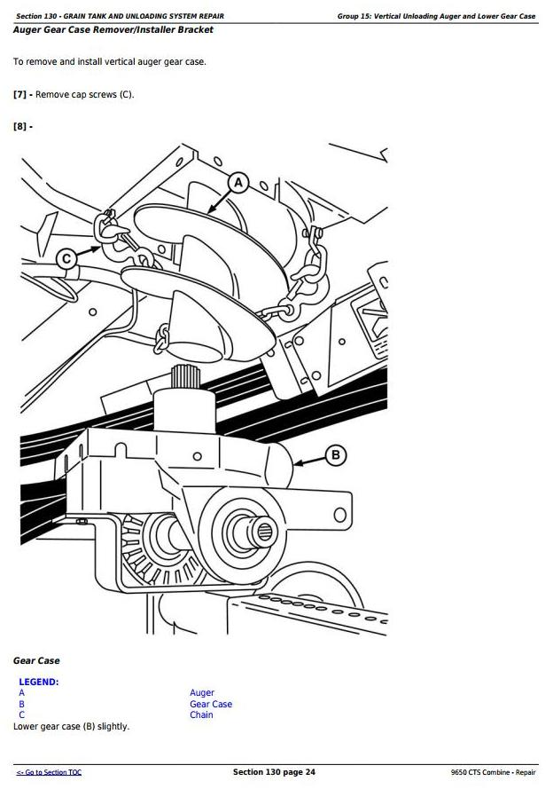 TM2021 - John Deere 9650 CTS Combine (SN. 695401-700400) Service Repair Technical Manual - 3