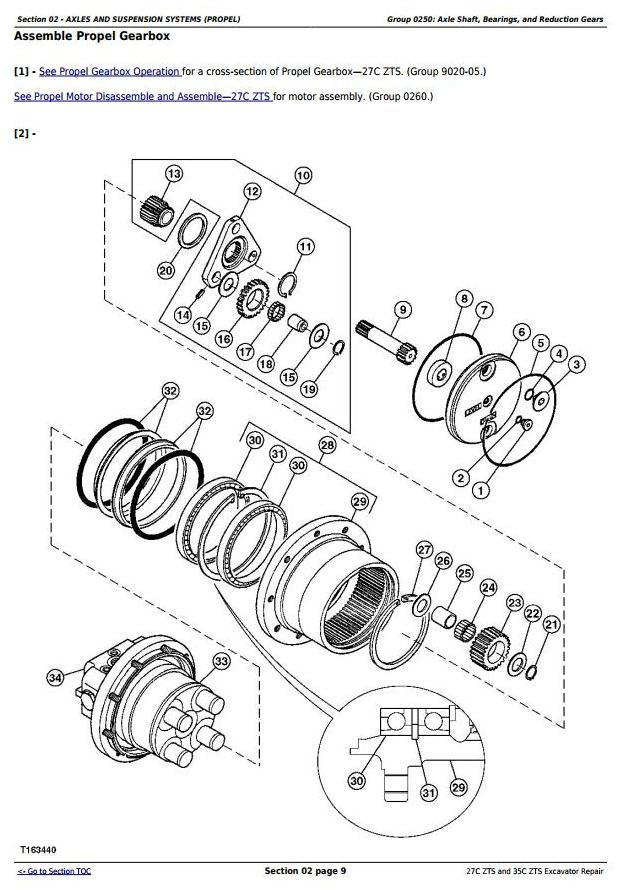 TM2053 - John Deere 27Czts and 35Czts Compact Excavator Service Repair Technical Manual - 1
