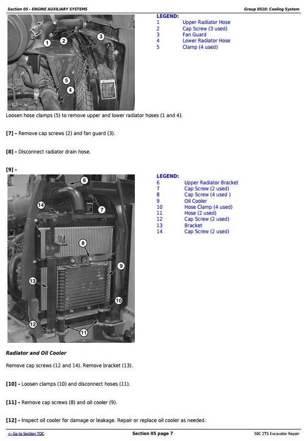 TM2057 - John Deere 50Czts Compact Excavator Service Repair Technical Manual - 1