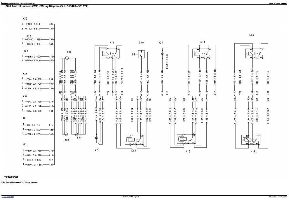 TM2060 - John Deere 710G Backhoe Loader Diagnostic, Operation and Test Service Manual - 1