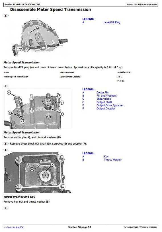 TM2065 - John Deere Central Commodity System Seed Metering for Air Seeders Service Repair Manual - 3