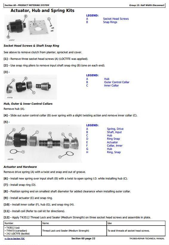 TM2065 - John Deere Central Commodity System Seed Metering for Air Seeders Service Repair Manual - 1