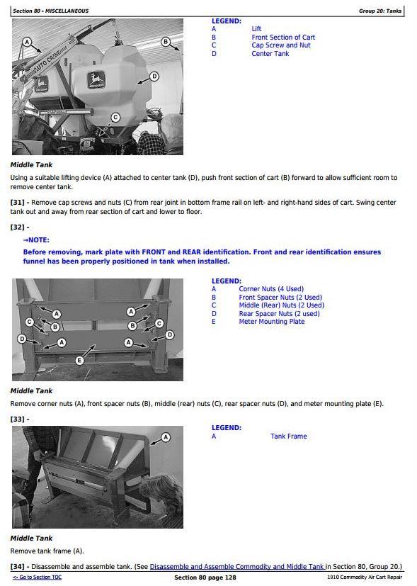 TM2067 - John Deere 1910 Commodity Air Cart Ground Drive Service Repair Technical Manual - 2