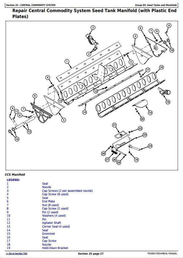 TM2091 - John Deere / Bauer Planters (SN.-745100) Diagnosis and Repair Technical Manual - 1