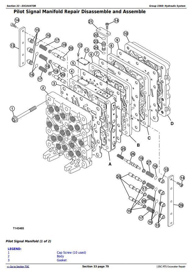 TM2094 - John Deere 135C RTS RTS Excavator Service Repair Manual - 3