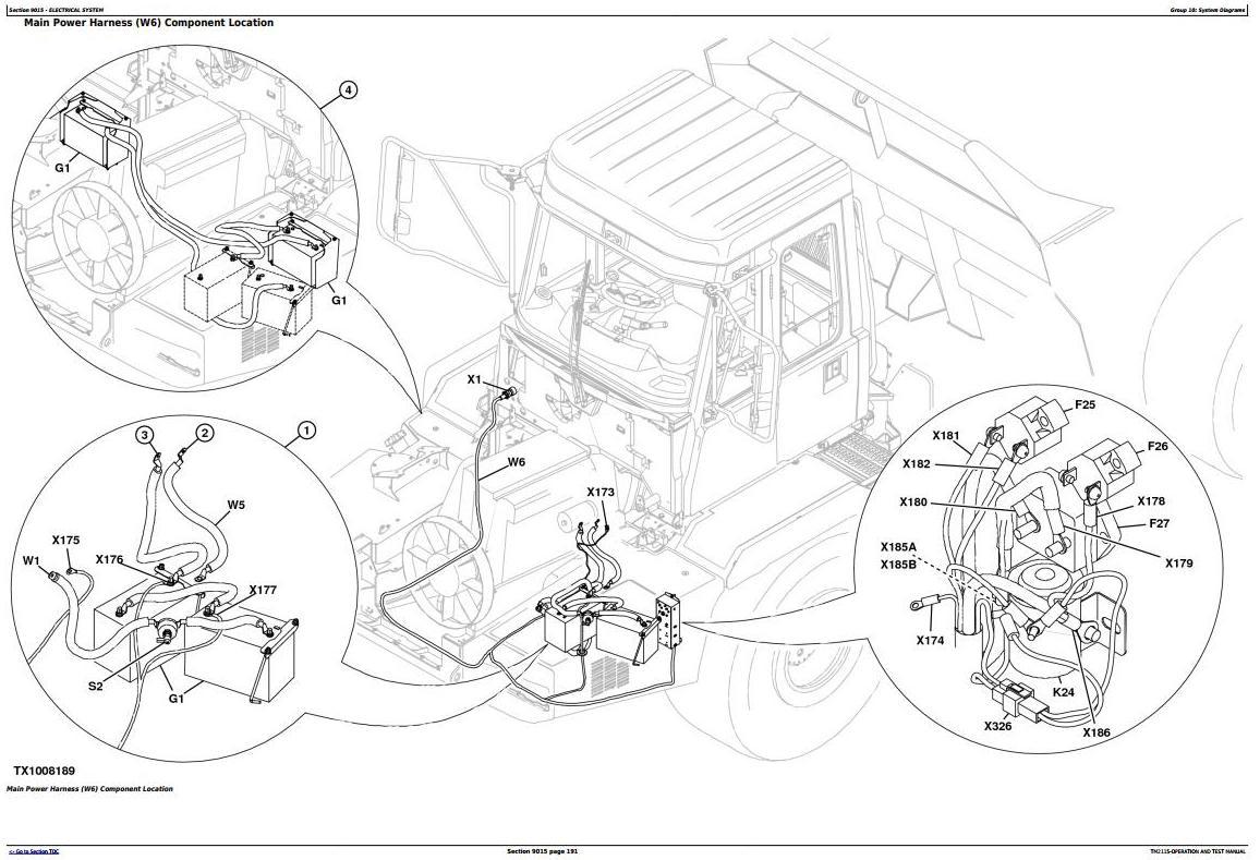 TM2115 - John Deere 250D, 300D Truck Articulated Dump XXXXXX-609165 Operation and Test Manual - 2