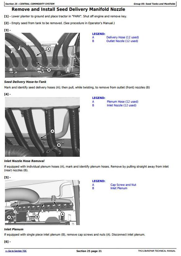 TM2128 - John Deere 1770NT, 1770NT CCS 24-Row Planter (SN.–740100) Service Repair Technical Manual - 1