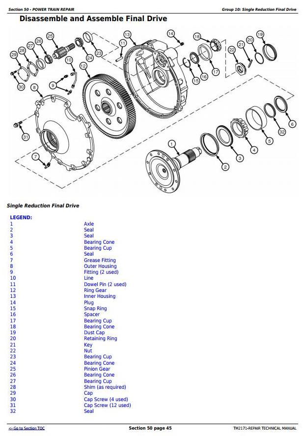 TM2171 - John Deere 9660 CTS Self-Propelled Combine (SN.from 705401) Service Repair Technical Manual - 3