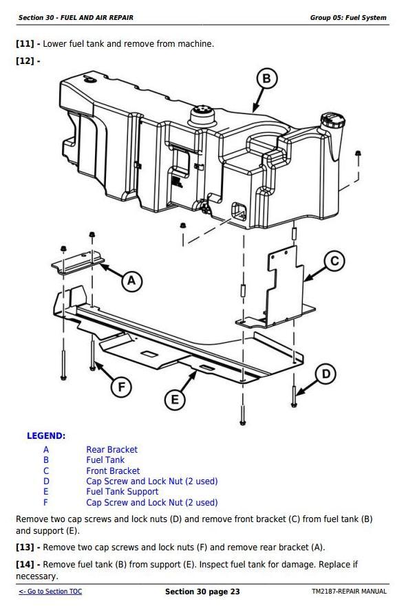 TM2187 - John Deere Tractors 5225, 5325, 5425, 5525, 5625, 5603 Service Repair Technical Manual - 3