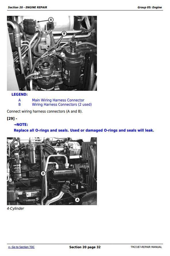 TM2187 - John Deere Tractors 5225, 5325, 5425, 5525, 5625, 5603 Service Repair Technical Manual - 1