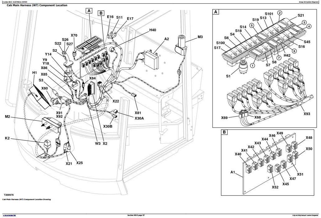 TM2206 - John Deere 244J (SN:-23289) , 304J (SN:-23371) Compact Loader Diagnostic&Test Service Manual - 1