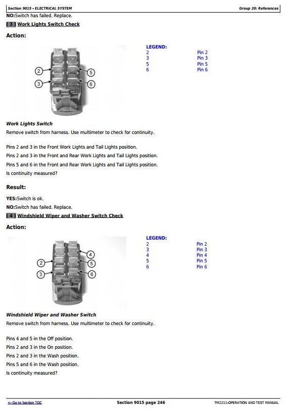 TM2211 - John Deere 332 Skid Steer Loader, CT332 Compact Track Loader Diagnostic&Test Service Manual - 3