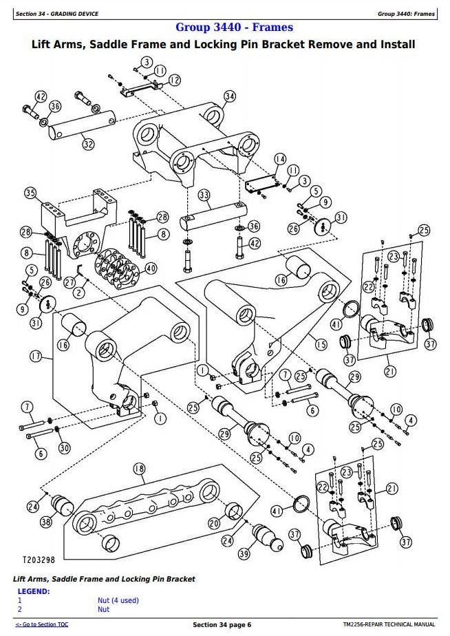 TM2256 - John Deere 670D, 672D, 770D, 772D, 870D, 872D Motor Grader Service Repair Technical Manual - 3