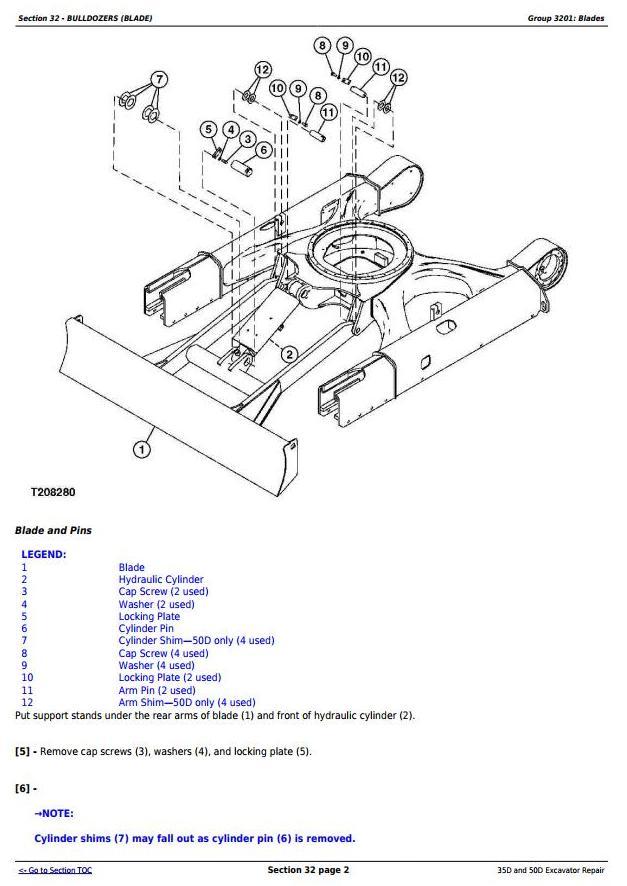 TM2264 - John Deere 35D and 50D Compact Excavator Service Repair Technical Manual - 2