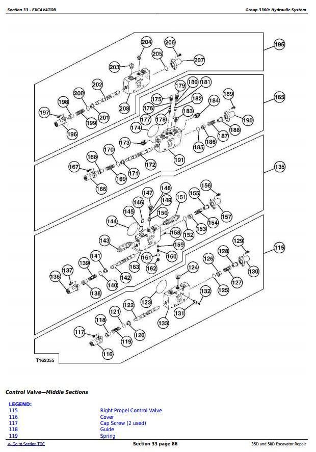 TM2264 - John Deere 35D and 50D Compact Excavator Service Repair Technical Manual - 3