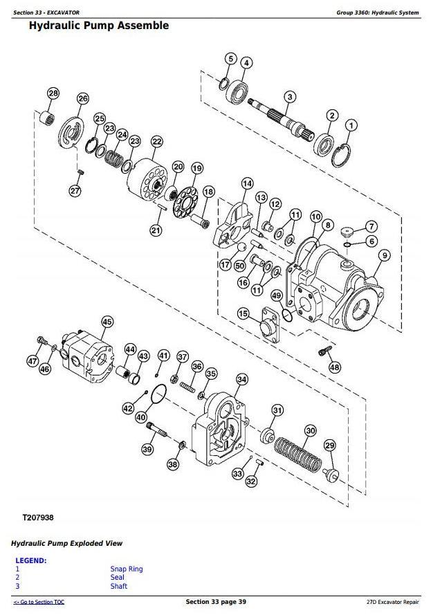 TM2356 - John Deere 27D Compact Excavator Service Repair Technical Manual - 2