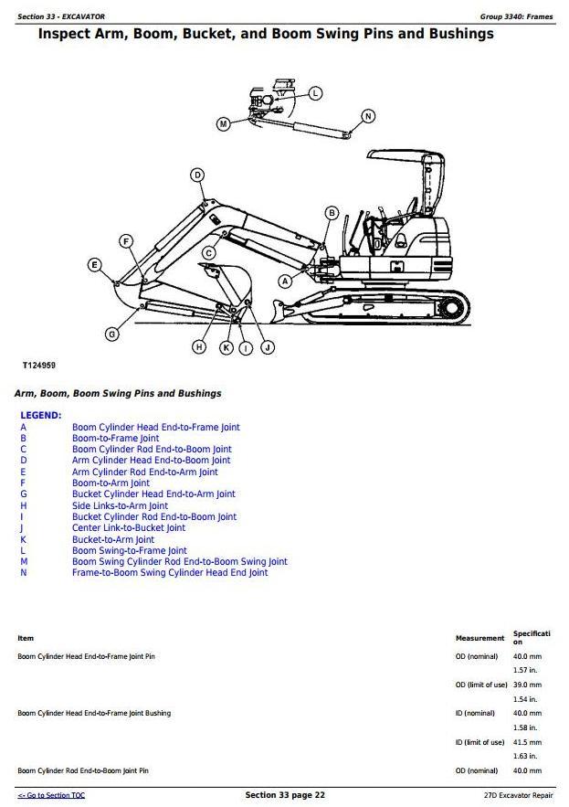 TM2356 - John Deere 27D Compact Excavator Service Repair Technical Manual - 3