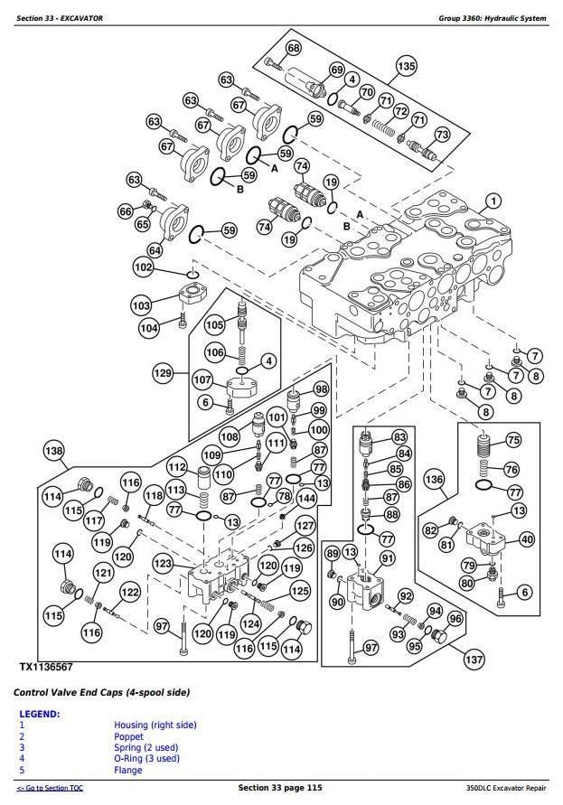 TM2360 - John Deere 350DLC Excavator Service Repair Technical Manual - 3