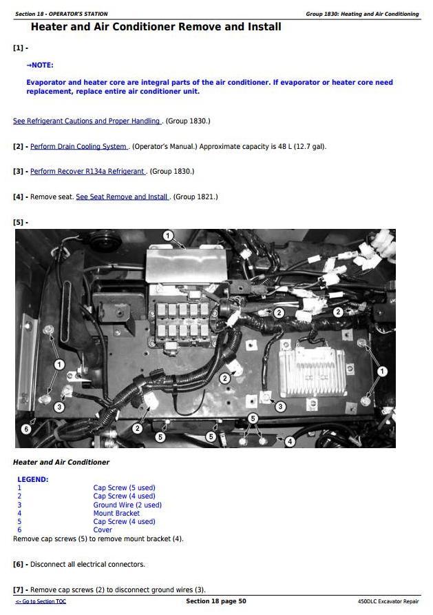 TM2362 - John Deere 450DLC Excavator Service Repair Technical Manual - 1