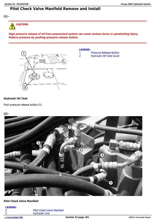 TM2362 - John Deere 450DLC Excavator Service Repair Technical Manual - 3