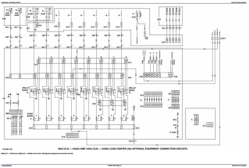 TM2363 - John Deere 950J Crawler Dozer Diagnostic, Operation and Test Service Manual - 1