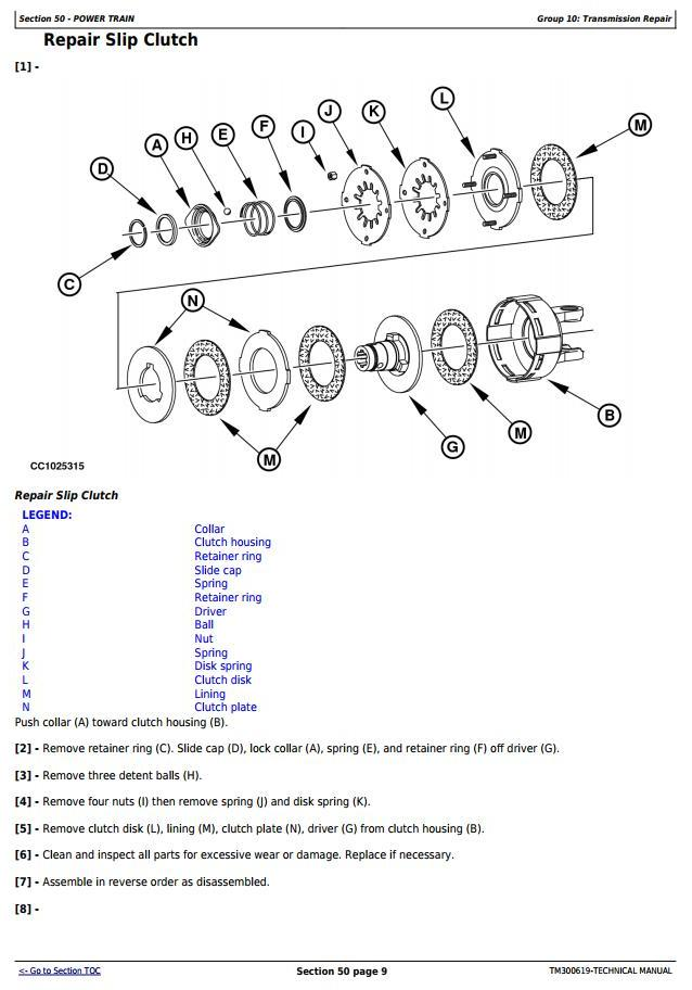 TM300619 - John Deere 131, 324, 324A, 328, 328A, 331 Mower-Conditioners All Inclusive Technical Manual - 1