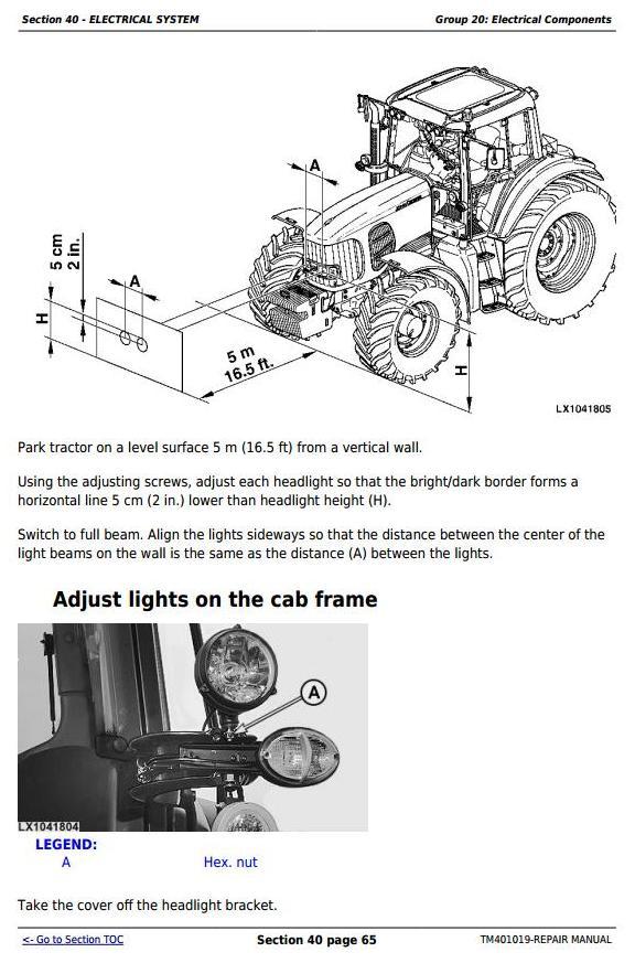 TM401019 - John Deere Tractors 6225, 6325, 6425, 6525 (European) Service Repair Technical Manual - 3