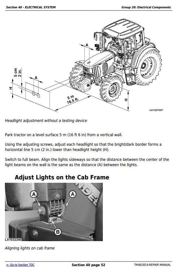 TM401819 - John Deere Tractor 5080R, 5090R, 5100R, 5080RN, 5090RN, 5100RN (European) Service Repair Manual - 3