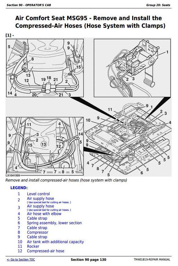 TM401819 - John Deere Tractor 5080R, 5090R, 5100R, 5080RN, 5090RN, 5100RN (European) Service Repair Manual - 1