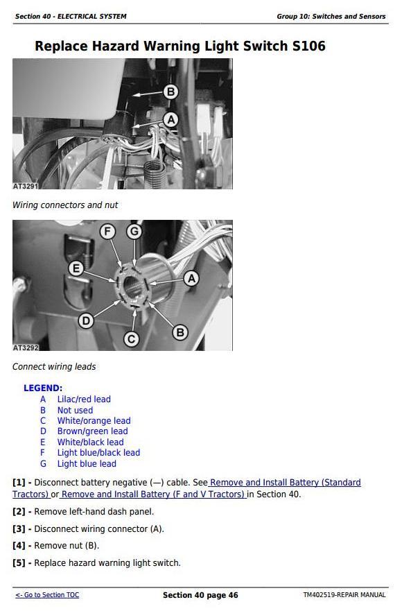 TM402519 - John Deere Tractor 5080G,5090G, 5090GH, 5080GV,5090GV,5100GV, 5080GF,5090GF,5100GF Repair Manual - 2