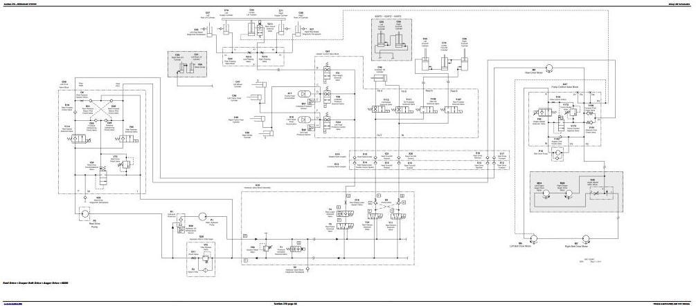 TM404119 - John Deere Combines W540, W550, W650, W660, T550, T560, T660, T670 w.Wide Cab Diagnostic manual - 1