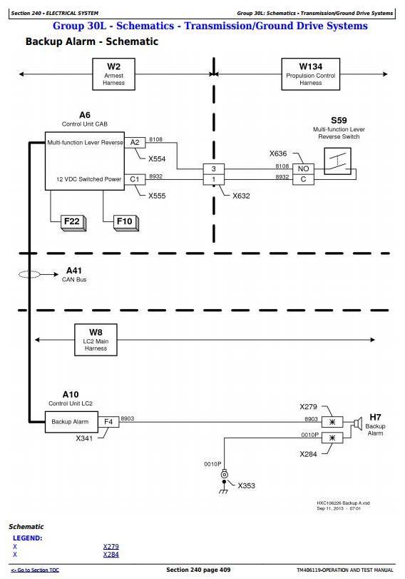 TM406119 - John Deere W540, W550, W650, W660, T550, T560, T660, T670 Combines (MY14) Diagnostic Manual - 3
