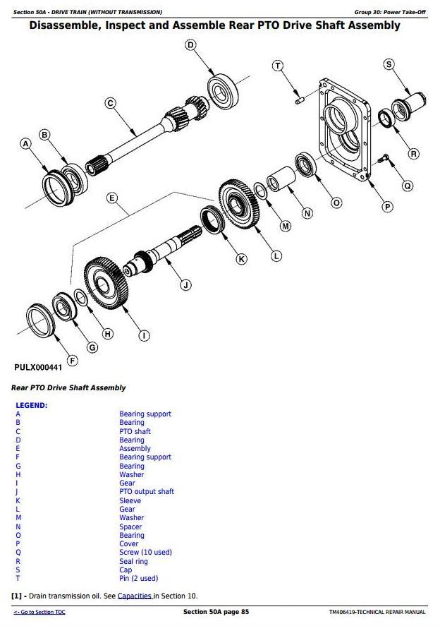 TM406419 - John Deere 5075G (F, L, N, V) , 5080G, 5085G (F, L, N, V) , 5090G(, H) , 5100G(F, N) Tractors Repair manual - 2