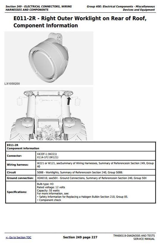 TM406519 - John Deere Tractors 6090MC, 6090RC, 6100MC, 6100RC, 6110MC, 6110RC Diagnostic Service Manual - 3